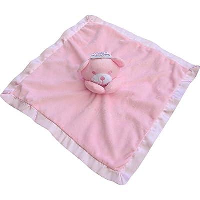 Bebé Niña Rosa de oso manta colcha