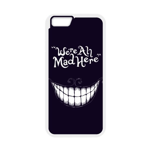 Design Alice in Wonderland Best Durable Case Cover Fits et protège Apple iPhone 6