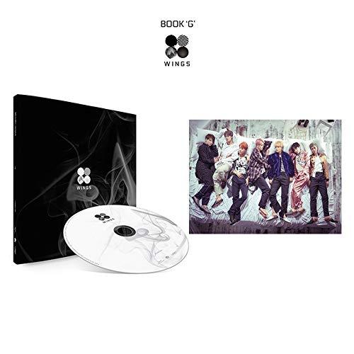 BTS Wings 2nd Album G Version Bangtan Boys Vol.2 CD+Poster+Photobook+Polaroid