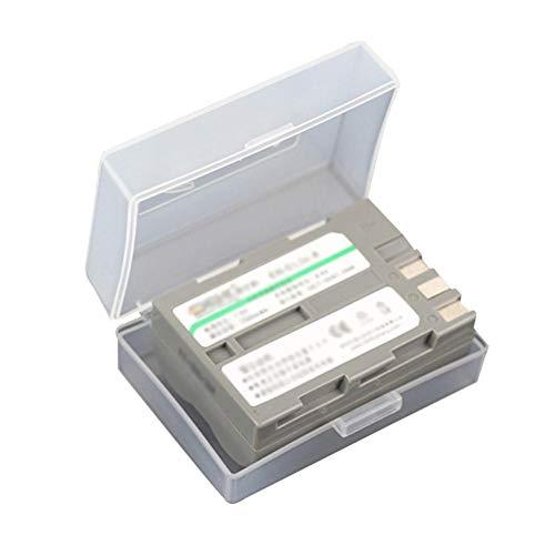 Knowled Kunststoffgehäuse Batterie Plastik Aufbewahrungsbox, Lithium-Batterie-Box-Kamera, SLR Schutzhülle Gegen Batterie-Aufbewahrungsbox Feuchtigkeitsfest Canon Bp-511a