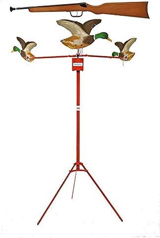 Carabine Crosse Bois - tir aux pigeons modèle SPIRAL 3 volatiles
