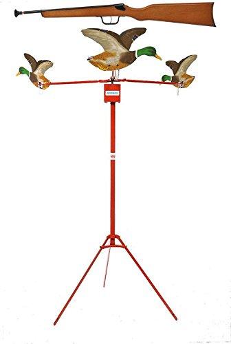 tir aux pigeons modèle SPIRAL électrique 3 volatiles canards