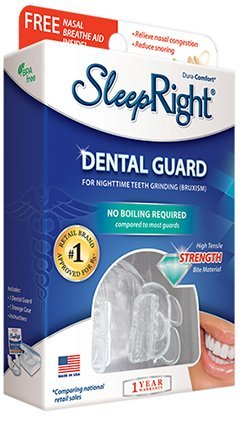 SleepRight Dura - Comfort Dental Guard For Night Time Teeth Grinding (Bruxism)