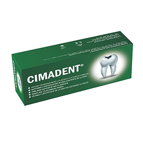 Ciment dentaire provisoire CIMADENT pour combler une cavité ou une obturation perdue