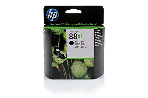 Preisvergleich Produktbild Original Tinte passend für HP OfficeJet Pro L 7590 HP 88XL , 88XLBK , 88XLBLACK , NO88 , NO88XL , NO88XLBK , NO88XLBLACK , Nr 88 C9396AE - Premium Drucker-Patrone - Schwarz - 2.450 Seiten - 58,9 ml