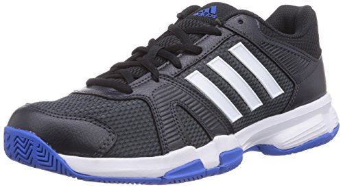 adidas Performance Barracks F10, Herren Hallenschuhe, Grau (Dark Grey/Ftwr White/Bright Royal), 41 1/3 EU (7.5 Herren UK)