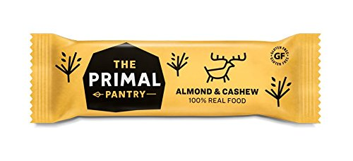 The Primal Pantry Veganer Paleo Riegel Mandel & Cashew, 18er Pack (18 x 45 g)
