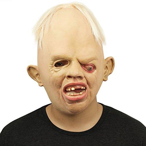 Auspicious beginning Gruselig Goonies Sloth Gesicht Schreckliche Kopf Masken für Halloween Kostüm (Weibliche Masken Superhelden)