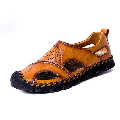 DOLDT1 Sandalias Hombres Moda Casual Hueco Clásico