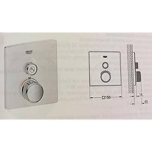 Grohe Grohtherm SmartControl Termostato con Un abspe rrventi 29153lsol