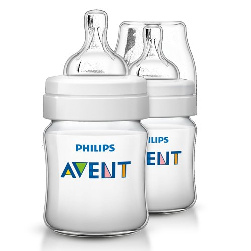 Philips Avent Anti-Kolik Klassik+ Flasche, 2er Pack (2 x 125 ml)