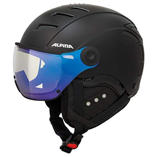 ALPINA Jump 2.0 VM Ski Helmet Black matt Kopfumfang 55-58cm 2018 Snowboardhelm