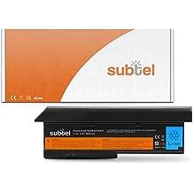 subtel® Batería premium (6600mAh) para Lenovo ThinkPad X200 / X200s / X201 / X201s bateria de repuesto, pila reemplazo, sustitución