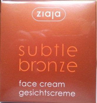 SUBTLE BRONZE Bräunungs - Gesichtscreme 50ml