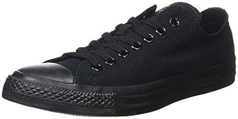 Converse Chuck Taylor All Star, Unisex Adults' Gymnastics Shoes, Black (Black Monochrome), 6 UK (39