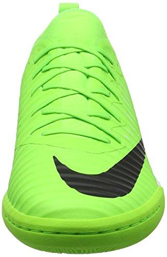 Nike Mercurial X Finale Ii Ic, Scarpe da Calcio Uomo, Multicolore Verde (Flash Lime/blk-wht-gm Lt Brwn)