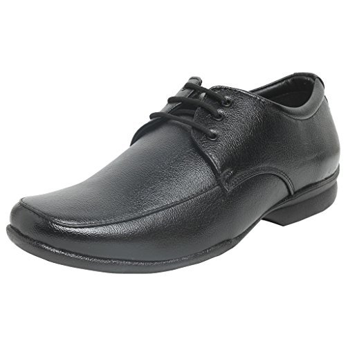 Bata Men's Black Formal Shoes Remo-86 (size-6x10)