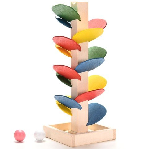 montessori-educational-toy-blocks-wooden-tree-marble-ball-run-track-game-baby-kids-children-intellig