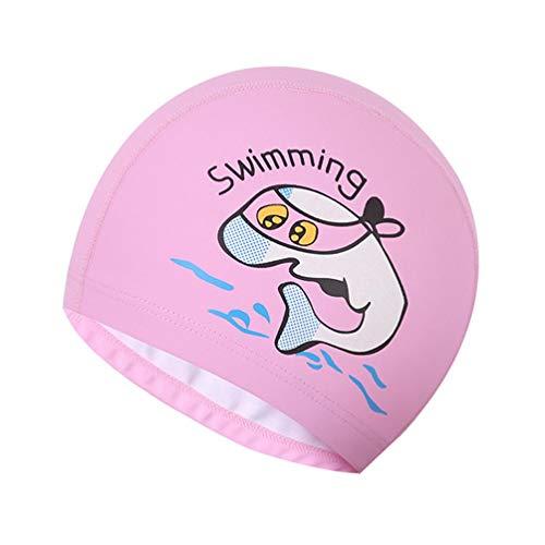 KoojawindCartoon Swim Cuffia da Nuoto Impermeabile per Bambini Svegli Neonato, Design Cappello Sportivo, Tuta da Bambino per 2-6 Anni, Bambini...