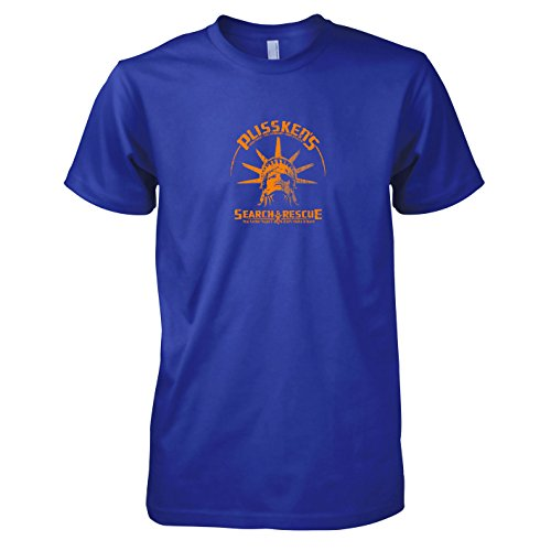 TEXLAB - Plissken's Search and Rescue - Herren T-Shirt Marine