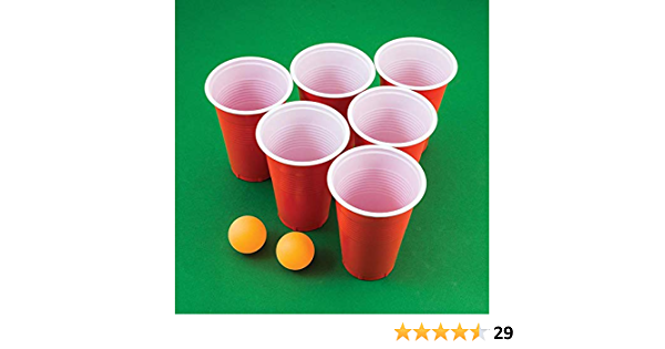 The Source Wholesale Beer Pong Blister Pack Amazon Co Uk Toys Games