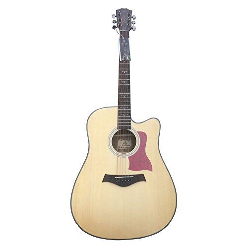 HONSING® Lato chitarra acustica / barile chipping Ingman noce 41 pollici del pannello compensato compensato e inferiore HS-4109CS-NT(colore di legno) - Fender Noci