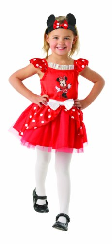 Minnie Mouse Red Ballerina - Disney - Kinder-KostŸm - Kleinkind - (Kostüme Kleinkind Minnie)