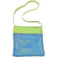 Bolsa de red perfecta para juguetes de piscina, conchas de mar, toalla de playa, traje de baño – mantener la arena y el agua lejos – Go bien con arena y ...