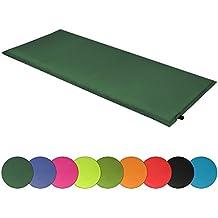 ALPIDEX Colchoneta camping Sunshine 190 x 60 x 2,5 cm esterilla autoinflable, Color