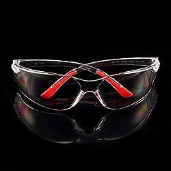 Gafas de seguridad para PC Gafas protectoras para motocicleta Polvo antinieve Prueba de salpicadura de viento Resistencia al impacto de alta resistencia para andar en bicicleta