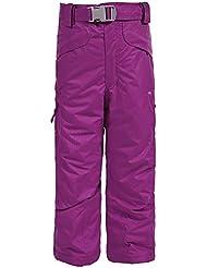 Trespass - Pantalones de Esquí impermeables acolchados con tirantes desmontables Modelo Marvelous Unisex Niños Niñas - Invierno/Esquiar/Snowboard