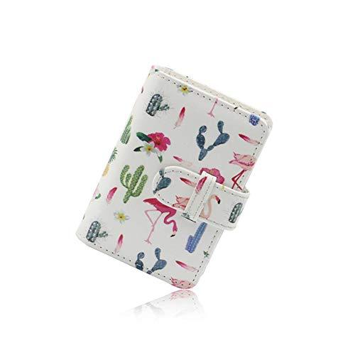 SNIIA Multifunktionaler Mini-Kartenhalter aus PU-Leder mit 21 Taschen für 3-Zoll-Mini-Instax-Fotoalbum von LOMO Collection. Foto von Lycra Sofort und Boleto/Memo