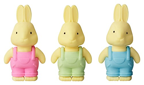Die Radiergummi Hasen von KliSa im 3er Pack - nicht nur für Kinder! Das ideale Geschenk für Jeden,...