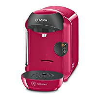 Pink: Tassimo by Bosch T12 Vivy TAS1251GB Coffee Hot Drinks and Hot Chocolate Tea Latte Cappuccino Machine - Sweet Pink