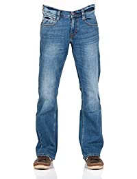 MUSTANG Herren Jeans Oregon - Bootcut - Blau - Light Blue - Mid Blue - Dark Blue - Black