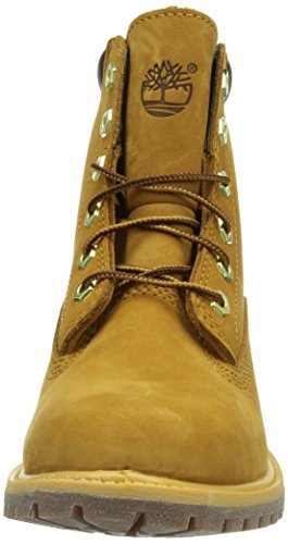 Timberland 6 in Basic Waterville Waterproof Stivali Donna Giallo (Wheat)