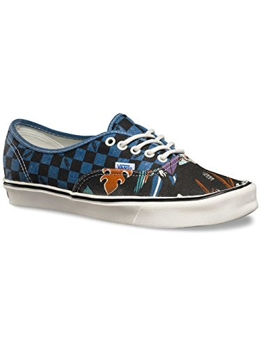 Vans Authentic Baskets Reissue (Lite)/BI/Parrots Check Bleu - bleu