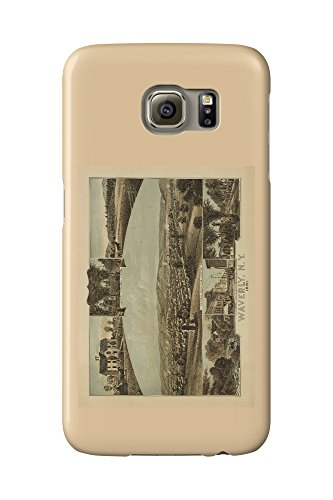 waverly-new-york-panoramic-map-galaxy-s6-cell-phone-case-slim-barely-there