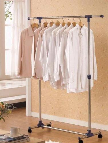Youlite-Single-Pole-Telescopic-Movable-Houseware-Portable-Clothes-Rack-Clothes-Rack