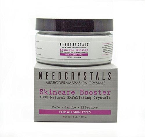 Microdermabrasion Ersatz (Brauchen Sie Kristalle Microdermabrasion Kristalle Weiß Aluminiumoxid Peeling Gesichtspflege 120 Grit - 454g)