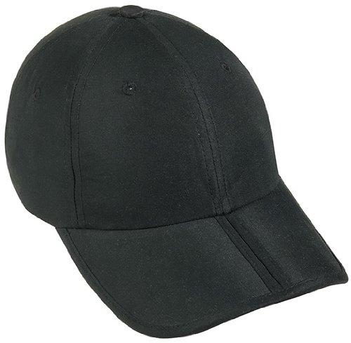Myrtle Beach Uni Pack-a-Cap, black, One size, MB6155 bl