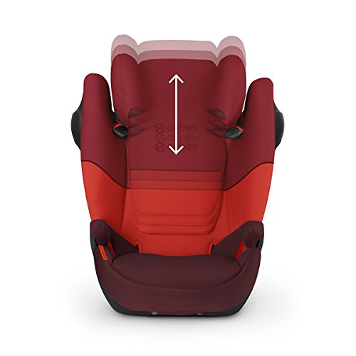 CYBEX Silver Pallas M-Fix SL 2-in-1 Child's Car Seat, For Cars with and without ISOFIX, Group 1/2/3 (9-36 kg), From approx. 9 Months to approx. 12 Years, Gray Rabbit