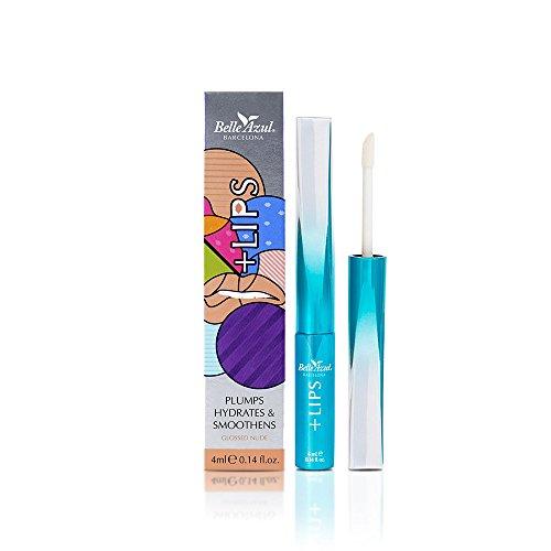 Belle Azul + Lips EDIZIONE LIMITATA Potente Lip Booster per labbra piene e morbide. Arricchito con olio di Argan e Cellule Staminali di Argan per idratare in profondità. (marrone)