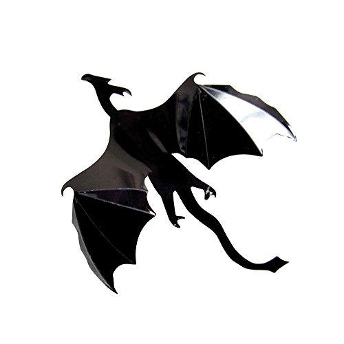 CXZC 1pc Gothic Dragons Etiqueta de la Pared Juego de Tronos Inspirada en 3D Dragon Wallpape