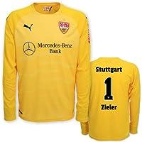 Puma VfB Stuttgart Torwarttrikot gelb Saison 2018/19