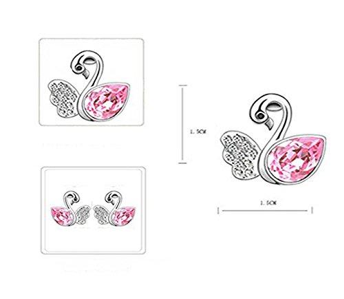 Habors-18K-White-Gold-Plated-Ocean-Pink-Angel-Wing-Swan-Austrian-Crystal-Earrings