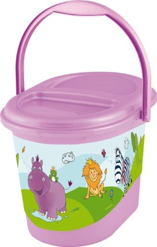 OKT Hippo Seau pour Couche Lilas