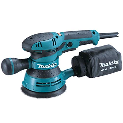 Makita BO5041J Ponceuse Excentrique 300 W Ø 125 mm