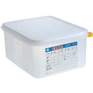 Araven Food Container 10Ltr 10 litre (1/2 GN). 150(H) x 325(W) x 265(D)mm. Pack quantity: 4