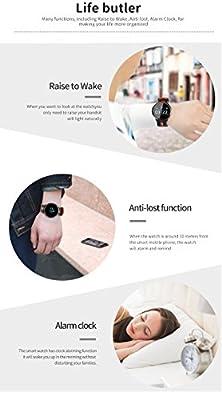 Fitness Tracker, Multi-function IP67 Waterproof Blood Pressure & Heart Rate & Sleep Monitoring Wristband Bracelet Sports Smart Watch from elecfan